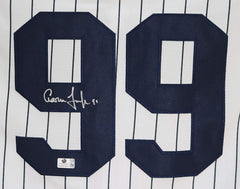 Aaron Judge New York Yankees Signed Autographed White Pinstripe #99 Jersey Global COA