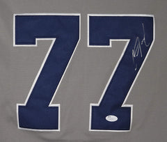 Clint Frazier New York Yankees Signed Autographed Gray #77 Jersey JSA COA
