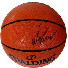 Nikola Vucevic Orlando Magic Signed Autographed Spalding NBA Game Ball Series Basketball CAS COA