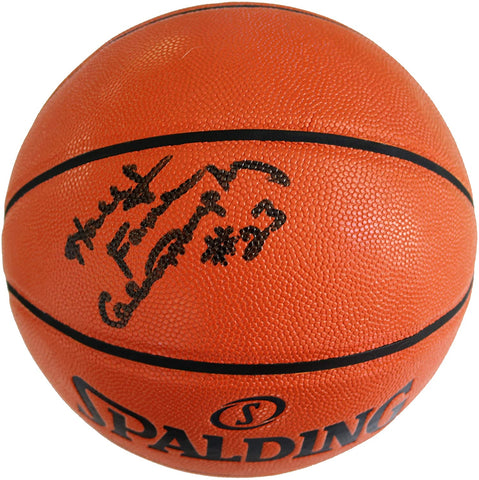 Calvin Murphy Houston Rockets Signed Autographed Spalding NBA Game Ball Series Basketball CAS COA