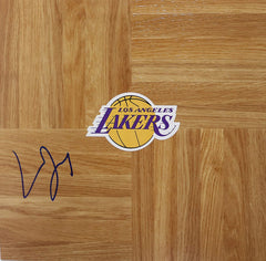 Lamar Odom Los Angeles Lakers Signed Autographed Basketball Floorboard