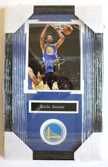 "Kevin Durant Golden State Warriors Signed Autographed 22"" x 14"" Framed Photo PP COA"