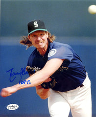 "Randy Johnson Seattle Mariners Signed Autographed 8"" x 10"" Photo"