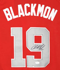 Charlie Blackmon Colorado Rockies Signed Autographed 2018 All Star #19 Jersey JSA COA