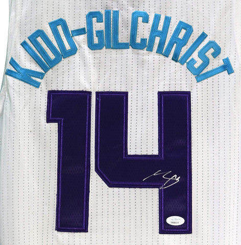 Michael Kidd-Gilchrist Charlotte Hornets Signed Autographed White #14 Jersey JSA COA