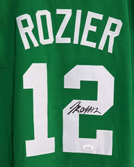 Terry Rozier Boston Celtics Signed Autographed Green #12 Custom Jersey JSA Witnessed COA