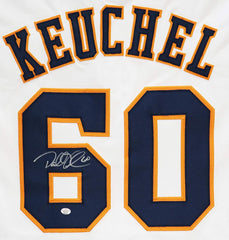 Dallas Keuchel Houston Astros Signed Autographed White #60 Custom Jersey PAAS COA