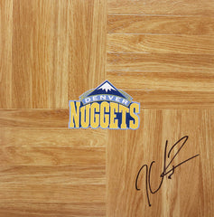 Kenyon Martin Denver Nuggets Signed Autographed Basketball Floorboard