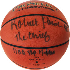 Robert Parish Boston Celtics Hall of Fame Signed Autographed Wilson Basketball JSA COA