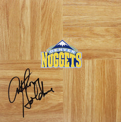 Anthony Goldwire Denver Nuggets Signed Autographed Basketball Floorboard