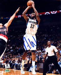 "Andrew Wiggins Minnesota Timberwolves Signed Autographed 8"" x 10"" Shooting Photo"