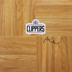 Patrick Beverley Los Angeles Clippers Signed Autographed Basketball Floorboard