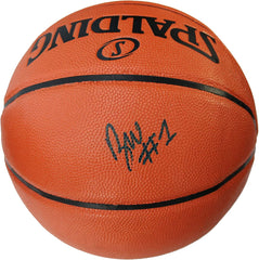 Zion Williamson New Orleans Pelicans Signed Autographed Spalding NBA Game Ball Series Basketball Global COA