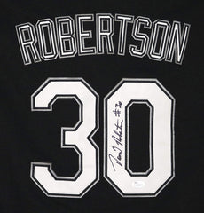 David Robertson Chicago White Sox Signed Autographed Black #30 Jersey JSA COA