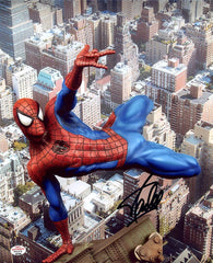 "Stan Lee Signed Autographed 8"" x 10"" Spiderman Photo PAAS COA"