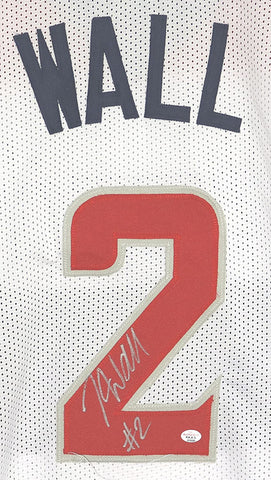 John Wall Washington Wizards Signed Autographed White #2 Custom Jersey PAAS COA