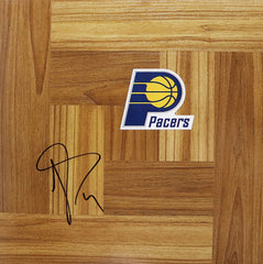 Luis Scola Indiana Pacers Signed Autographed Basketball Floorboard