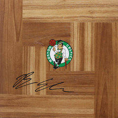 Brian Scalabrine Boston Celtics Signed Autographed Basketball Floorboard