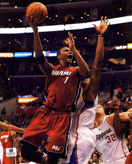 "Chris Bosh Miami Heat Signed Autographed 8"" x 10"" Photo"