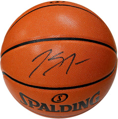 Karl-Anthony Towns Minnesota Timberwolves Signed Autographed Spalding NBA Game Ball Series Basketball Pinpoint COA