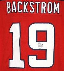 Nicklas Backstrom Washington Capitals Signed Autographed Red #19 Custom Jersey PAAS COA