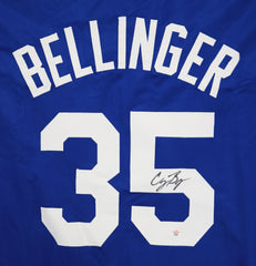 Cody Bellinger Los Angeles Dodgers Signed Autographed Blue #35 Custom Jersey PAAS COA