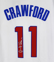 Jamal Crawford Los Angeles Clippers Signed Autographed White #11 Jersey