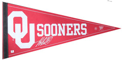 Adrian Peterson Oklahoma Sooners Signed Autographed Pennant