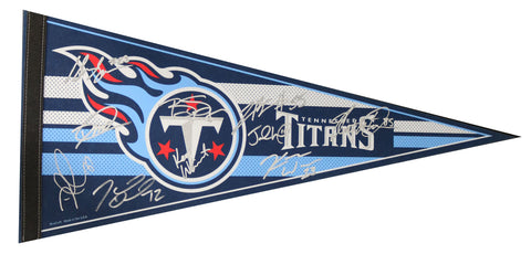 Tennessee Titans 2014 Team Signed Autographed Pennant Bishop Sankey Jake Locker Kendall Wright