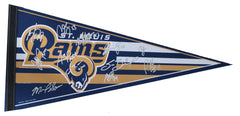 St. Louis Rams 2014 Team Signed Autographed Pennant Jeff Fisher Sam Bradford