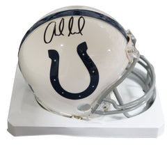 Andrew Luck Indianapolis Colts Signed Autographed Mini Helmet Global COA
