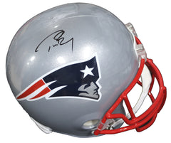 Tom Brady New England Patriots Signed Autographed Riddell Full Size Replica Helmet Global COA
