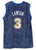 Ty Lawson Denver Nuggets Signed Autographed Blue Crazy Light #3 Jersey JSA COA