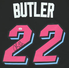 Jimmy Butler Miami Heat Signed Autographed City Edition Black #22 Jersey PAAS COA