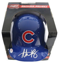Anthony Rizzo Chicago Cubs Signed Autographed Mini Helmet PAAS COA