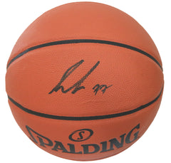 Luka Doncic Dallas Mavericks Signed Autographed Spalding Game Ball Series Basketball PAAS COA