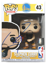 Stephen Curry Golden State Warriors Signed Autographed NBA FUNKO POP #43 Vinyl Figure Global COA