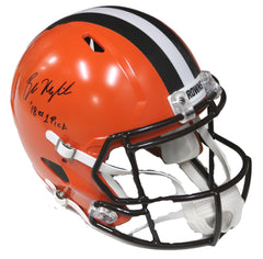 Baker Mayfield Cleveland Browns Signed Autographed Riddell Full Size Replica Helmet Global COA