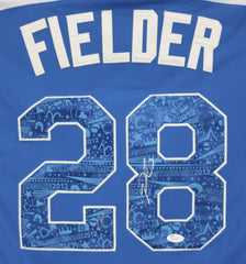 Prince Fielder Detroit Tigers Signed Autographed 2012 All Star #28 Jersey JSA COA