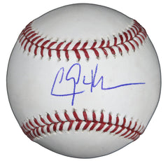 Clayton Kershaw Los Angeles Dodgers Signed Autographed Rawlings Official Major League Baseball Sweet Spot Global COA with Display Holder