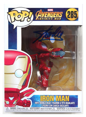 Stan Lee Signed Autographed Ironman Marvel Avengers Infinity War FUNKO POP #285 Vinyl Figure Global COA
