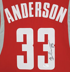 Ryan Anderson Houston Rockets Signed Autographed Red #33 Custom Jersey JSA COA