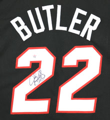 Jimmy Butler Miami Heat Signed Autographed Black #22 Custom Jersey PAAS COA