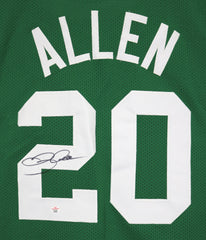 Ray Allen Boston Celtics Signed Autographed Green #20 Custom Jersey PAAS COA