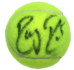 Roger Federer Pro Tennis Player Signed Autographed Penn Tennis Ball Global COA with Display Holder