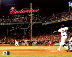 "David Ortiz Boston Red Sox Signed Autographed 8"" x 10"" Home Run Photo Global COA"
