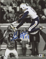 "Keenan Allen Los Angeles Chargers Signed Autographed 8"" x 10"" Spotlight Photo Global COA"