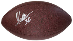 Marcus Allen Oakland Raiders Kansas City Chiefs Signed Autographed Wilson NFL Football SGC COA