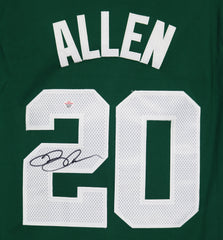 Ray Allen Boston Celtics Signed Autographed Green #20 Jersey PAAS COA