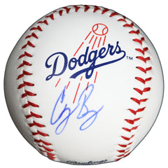 Cody Bellinger Los Angeles Dodgers Signed Autographed Rawlings Official Major League Logo Baseball Global COA with Display Holder